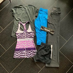 Nike Pants & Jumpsuits - Nike Athleisure 6 Piece Workout Bundle